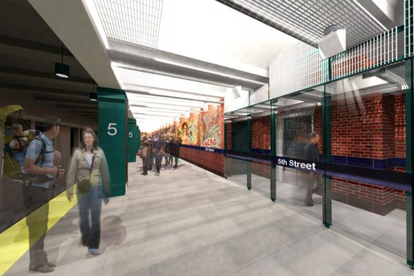 SEPTA, 5th Street Station Rehabilitation - rendering 1
