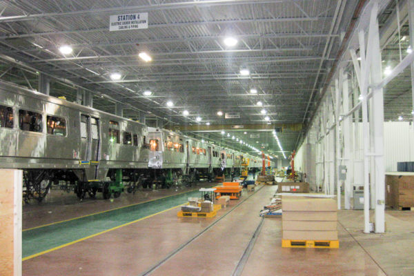 Rail Car Assembly and Testing Facility: Hyundai Rotem USA