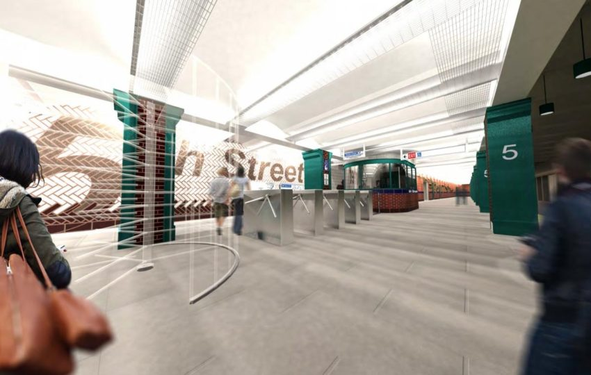 SEPTA, 5th Street Station Rehabilitation - rendering 2