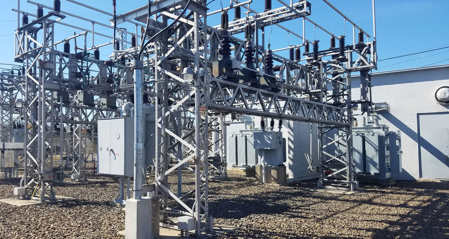 DC traction power substation