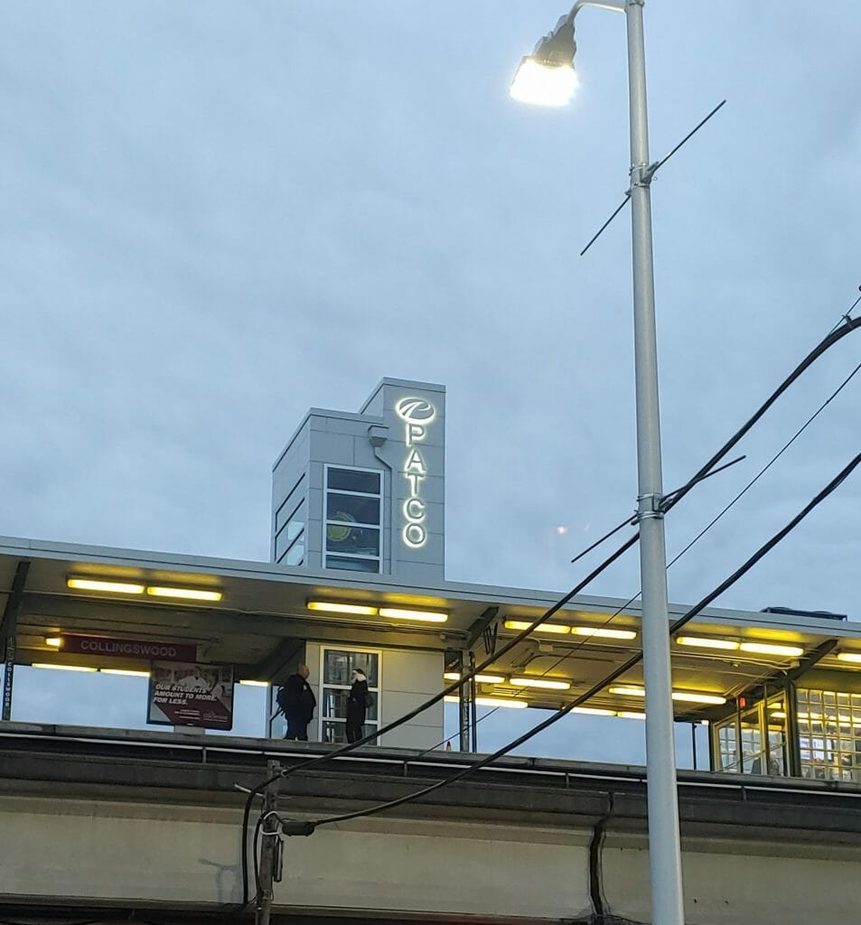 PATCO Station at Collingswood