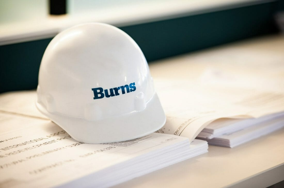 Burns Ranked in Top 300 on ENR's Top 500 Design Firm List