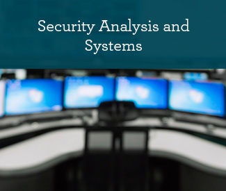 Security Analysis and Systems