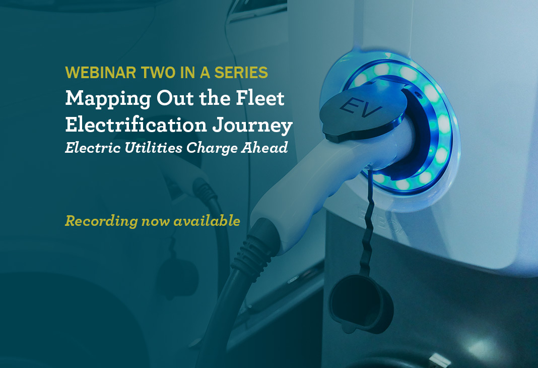 Webinar Fleet Electrification
