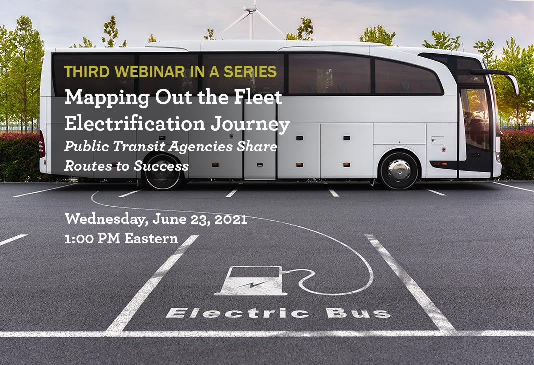 Fleet Electrification Webinar June 23, 2021